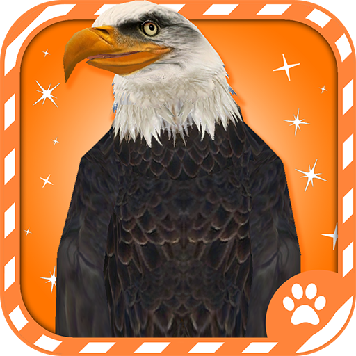 Virtual Pet Bald Eagle - Sunglasses Glide