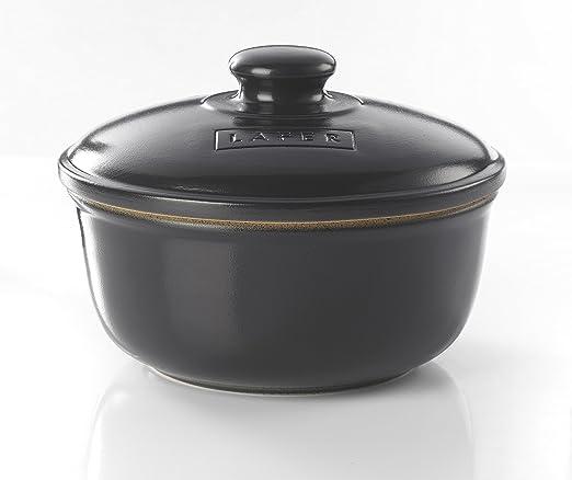 Romertopf Reston Lloyd Trend Series Glazed Natural Clay Cooker,Medium 3-Quart