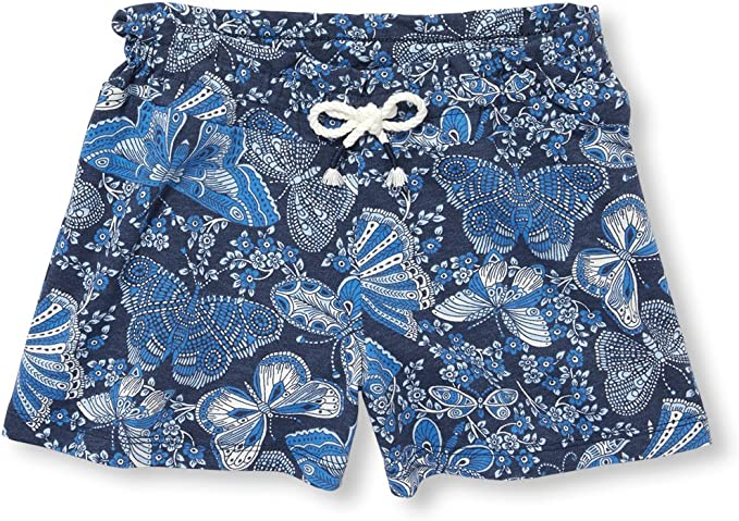 The Childrens Place Baby Girls Graphic Printed Drawstring Shorts