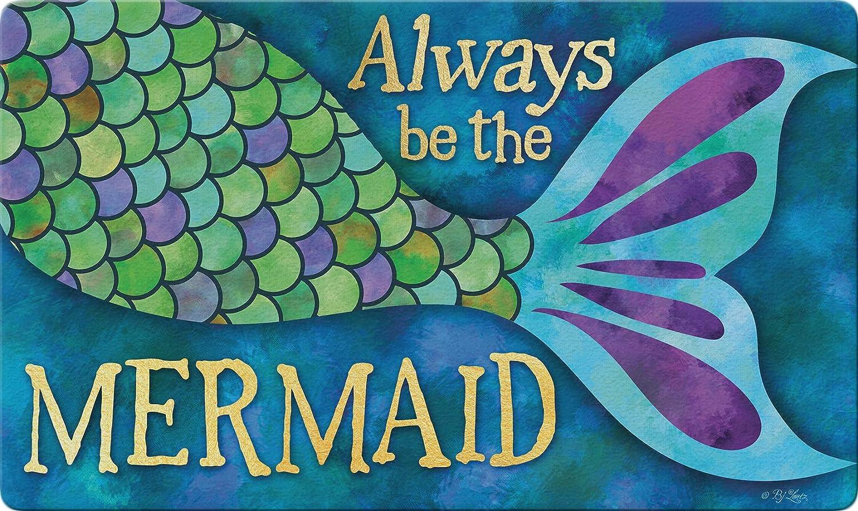 Toland Home Garden 800501 Mermaid Tail 18 x 30 Inch Decorative, Doormat