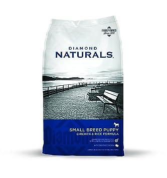 Puppy Diamond Dog Food >> Amazon Com Diamond Naturals Real Meat Recipe High Protein Dry Dog