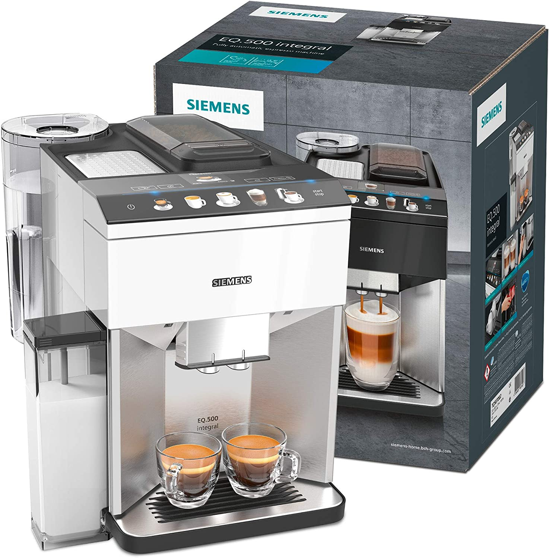 Siemens TQ507D03 Cafetera automática, 1500 W, 1.7 litros, Negro ...