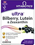 Vitabiotics Ultra Bilberry, Lutein and Zeaxanthin - 30 Tablets