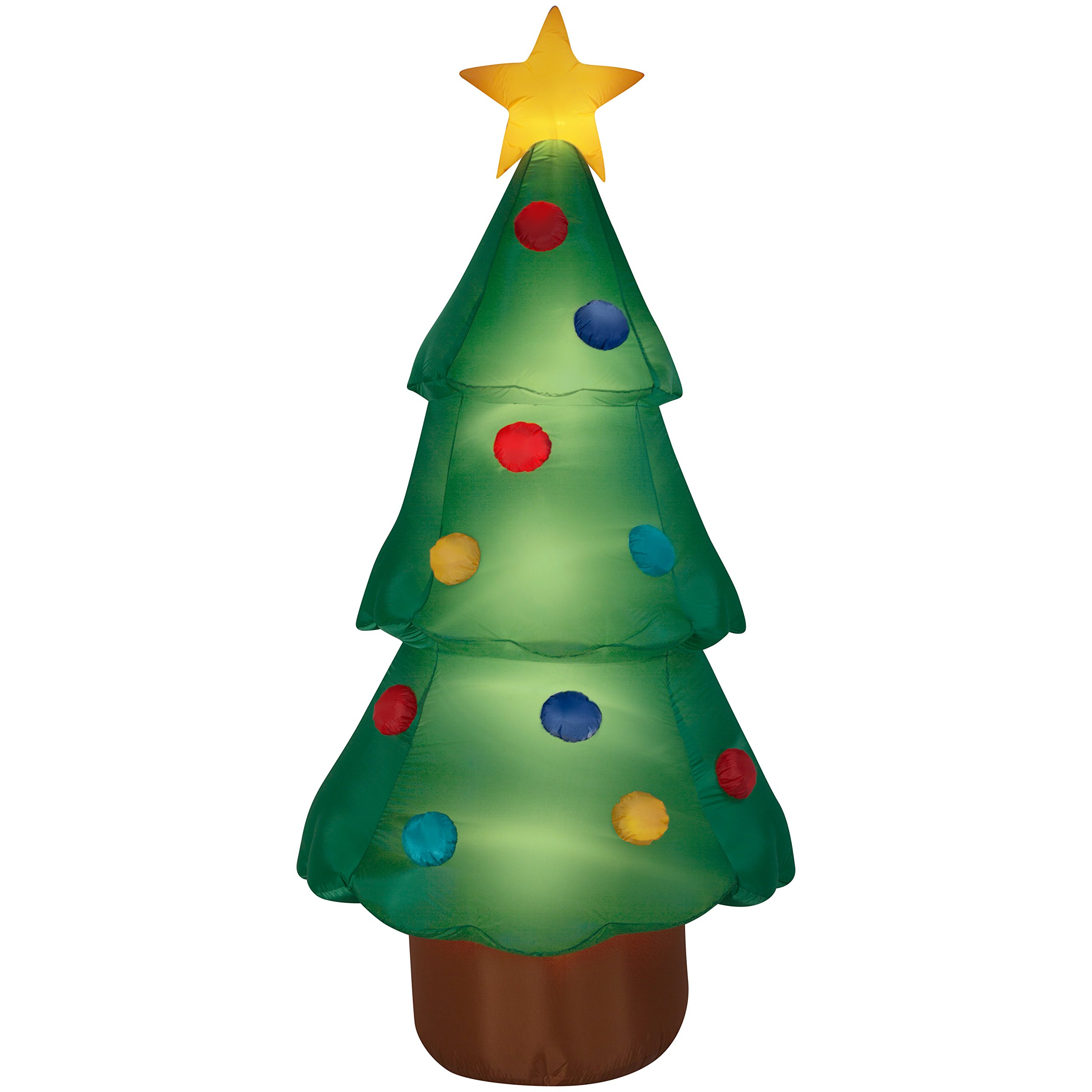 Airblown Inflatable-Christmas Tree Giant 10ft tall by Gemmy Industries by Airblown Inflatable
