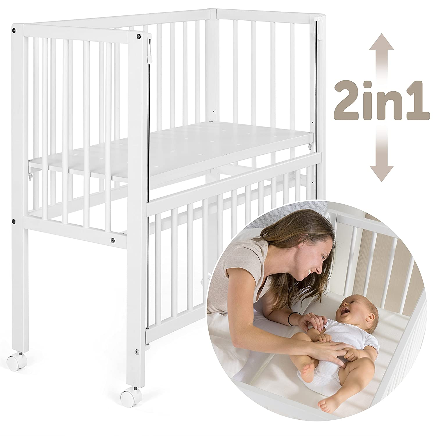 Fillikid Babybett Vario 2in1