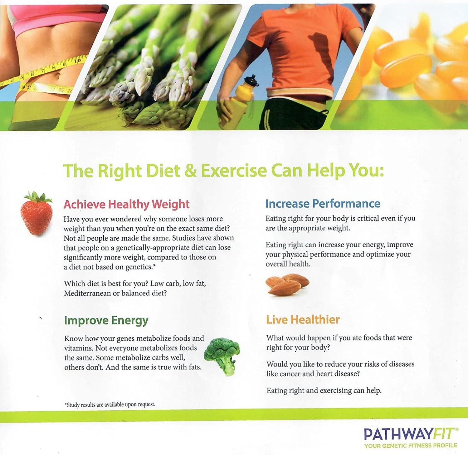 amazon com pathway fit genetic weight loss test diet test