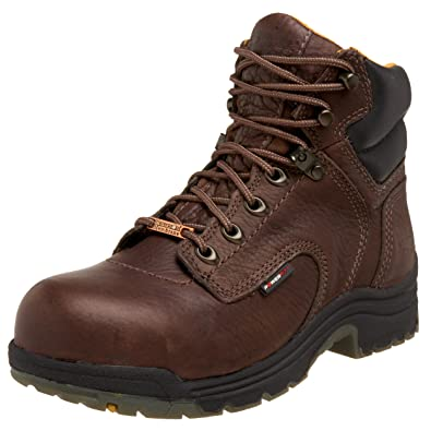 Timberland Pro Women s Titan 6 quot  Waterproof Safety Toe Boot ... b49fd76b51