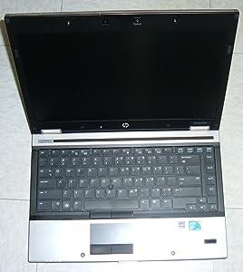 """HP EliteBook 8440p Intel Core i7-620M X2 2.66GHz 4GB 250GB DVD+/-RW 14.1"""" Win7 Pro (Black)"""