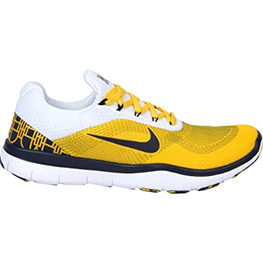 online store 7a940 82e7a Image Unavailable. Image not available for. Color  Nike Michigan Wolverines  Free Trainer V7 Week Zero College Shoes ...