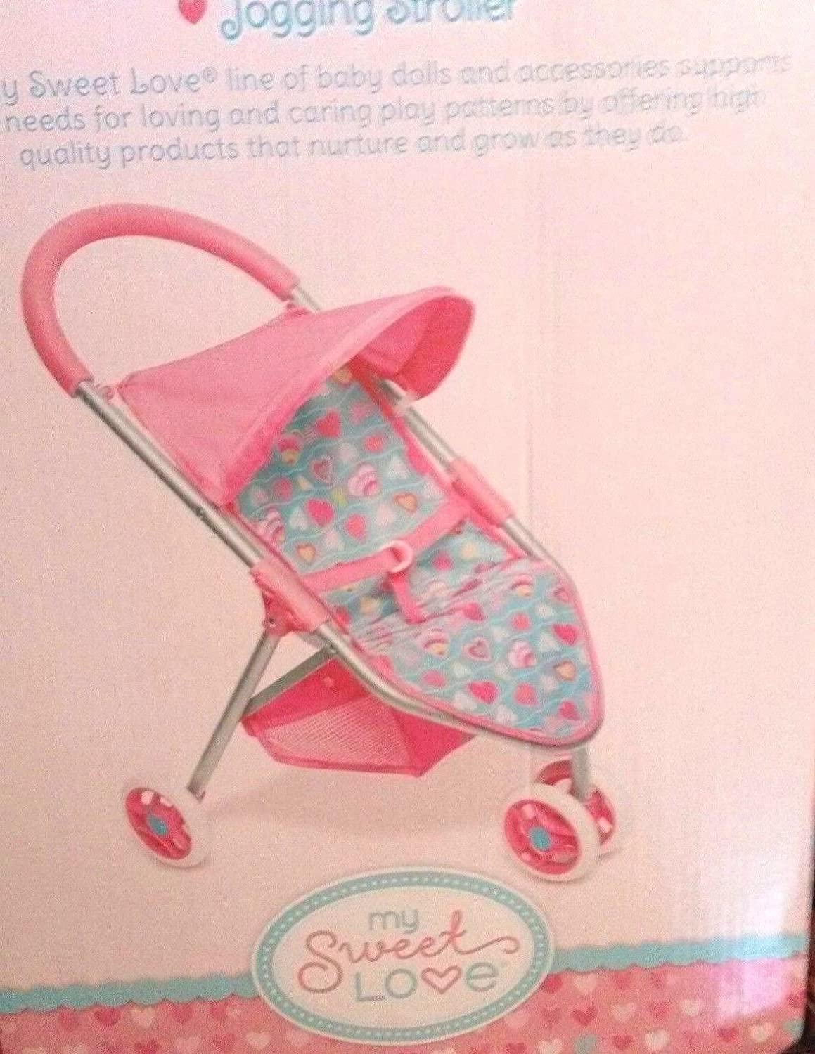 My Sweet Love Doll Hearts Jogging Stroller Wa-Mart Stores Inc.