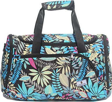 Sweet Beverage Duffel Style Carry On Sports Travel Bag with Shoulder Strap Zippered Compartments