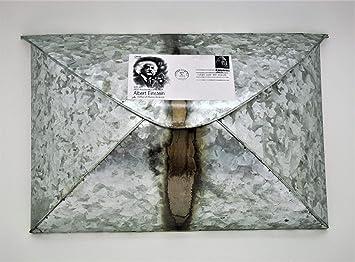 kuheiga Buzón Cartas Box Zinc Metal Buzón: Amazon.es: Hogar