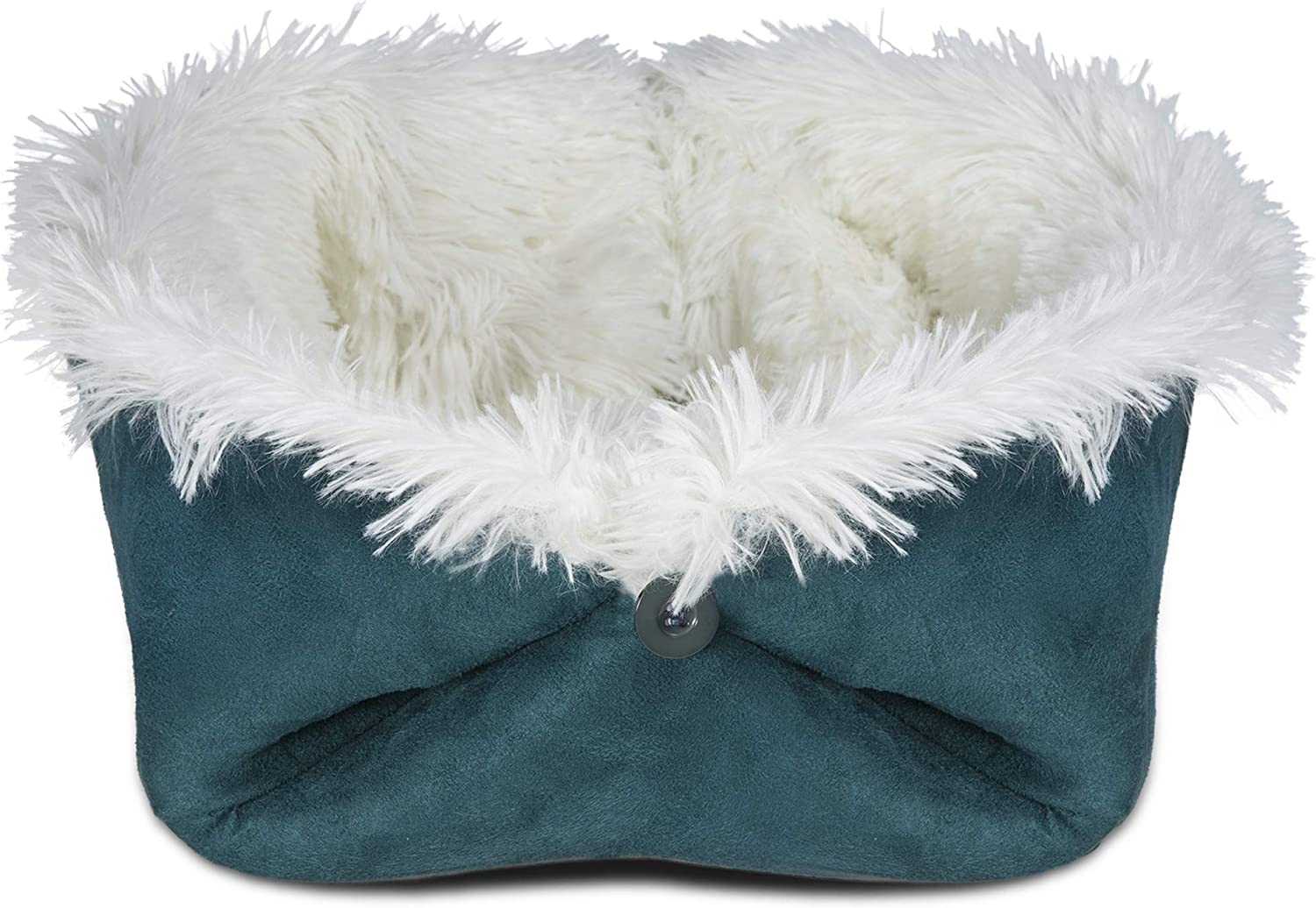 Convertible Self-Warming Cuddle Pet Bed for Dogs /& Cats Spruce Small FurHaven Pet Dog Bed