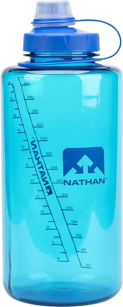 Nathan SuperShot 1.5 L Water Bottle Blue//Electric Blue GREY