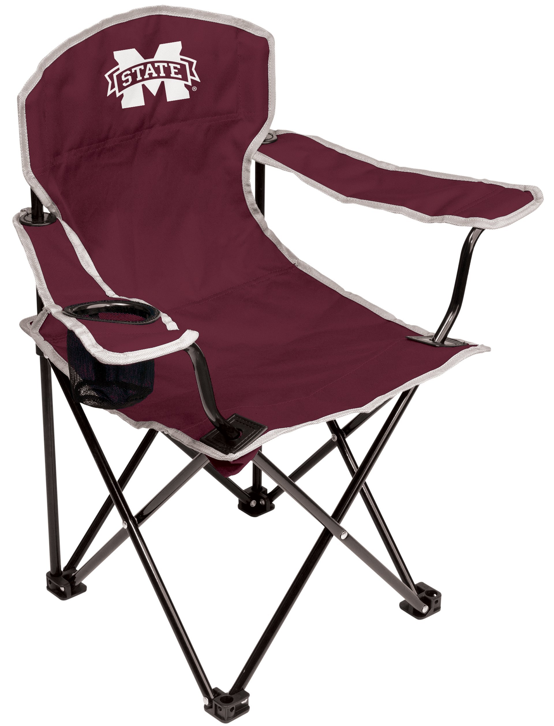 NCAA Mississippi State Bulldogs Youth Folding Chair, Maroon
