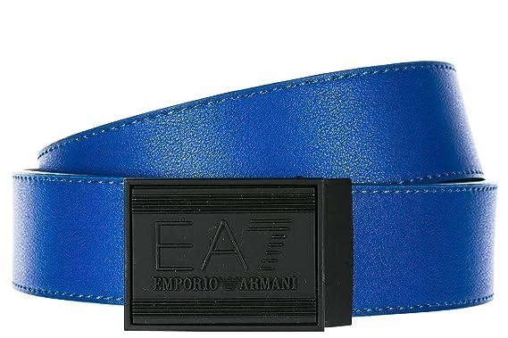 f78ebfdf5f1 Emporio Armani EA7 ceinture homme raccourcie réversible train core id blu  EU 105 2753768P69322933