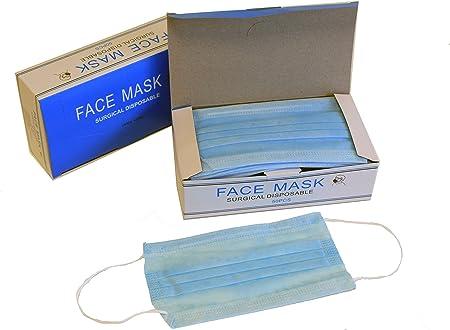 masque facial jetable 3 plis