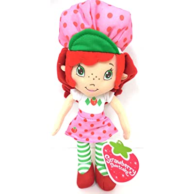 Strawberry Shortcake Classic Plush Doll 8 Inches: Toys & Games