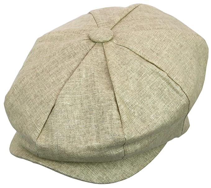 Men's Vintage Style Hats Mens Newsboy Linen Applejack Gatsby Collection Ivy Hats $12.99 AT vintagedancer.com