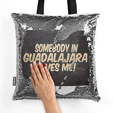 Amazon.com: NEONBLOND Mermaid Tote Handbag Somebody in ...