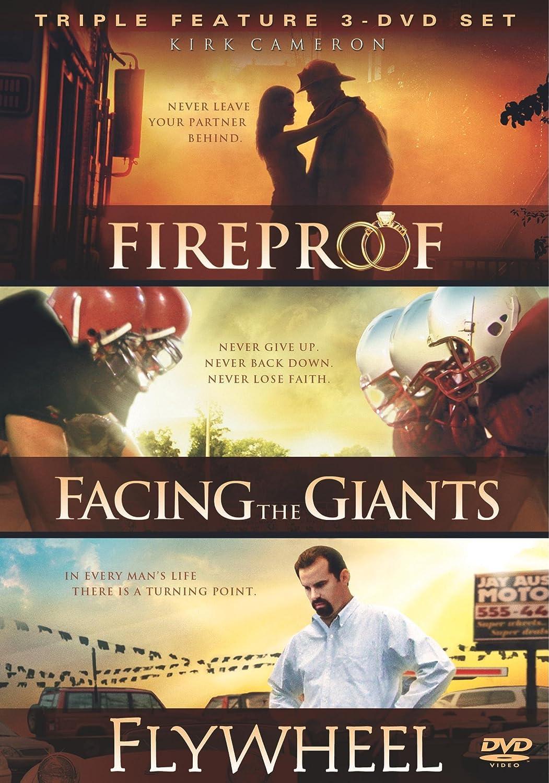 Fireproof/Facing the Giants/Flywheel Movie Pack (Bilingual) Alex Kendrick Erin Bethea Shannen Fields Kirk Cameron