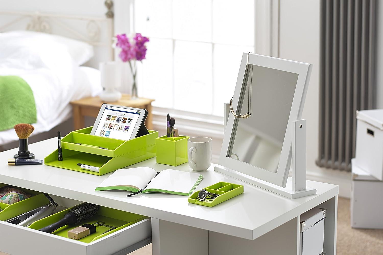 85 x 98 x 85 mm Green Avery CS401 ColorStak Pen Pot