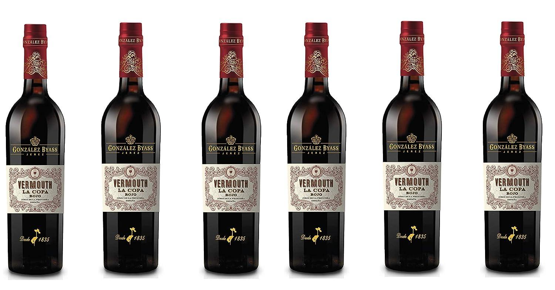 Vermouth La Copa Rojo - DO Jerez - 6 x 750 ml - Total: 4500ml