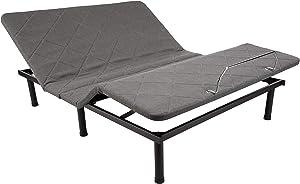 AmazonBasics Adjustable Bed Base with No Massage - Full