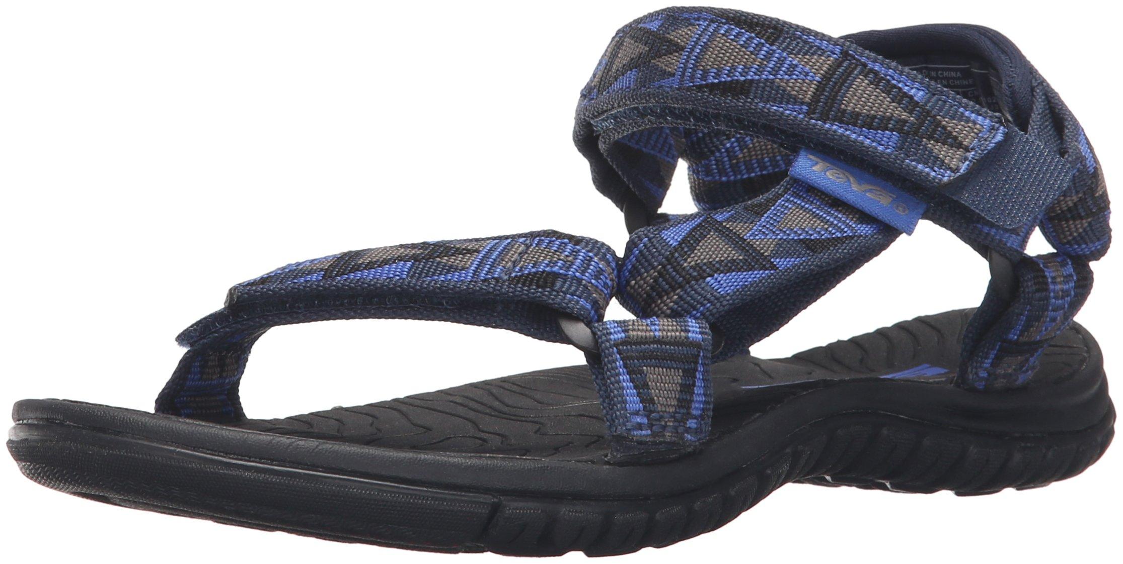 Teva Boys' Hurricane 3 Sandal, Mosaic Blue/Grey, 11 M US Little Kid