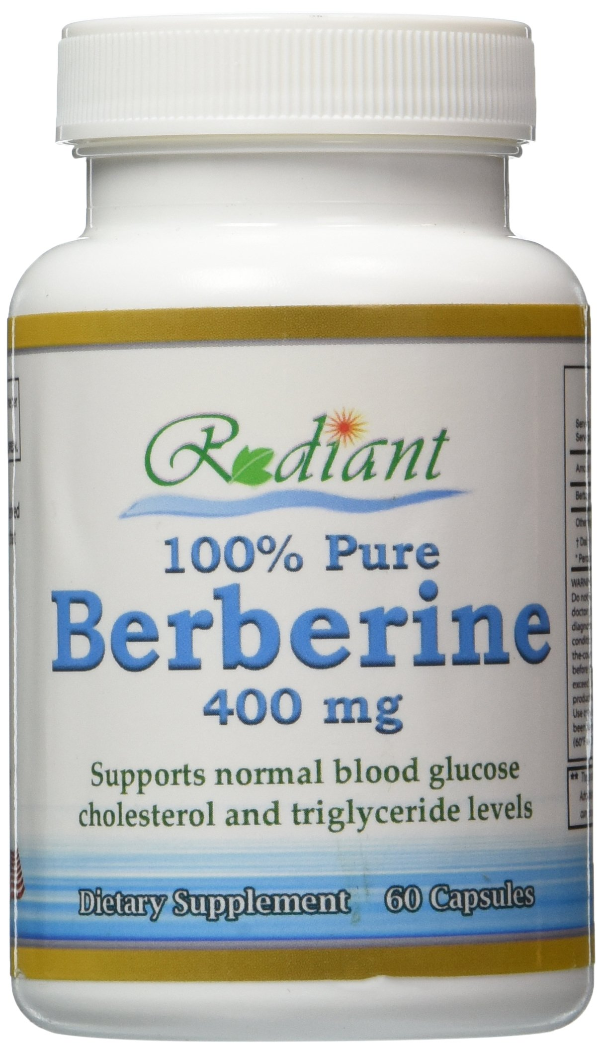 Berberine, 100% Pure, Best Quality, 60 Caps, 30-Day Supply