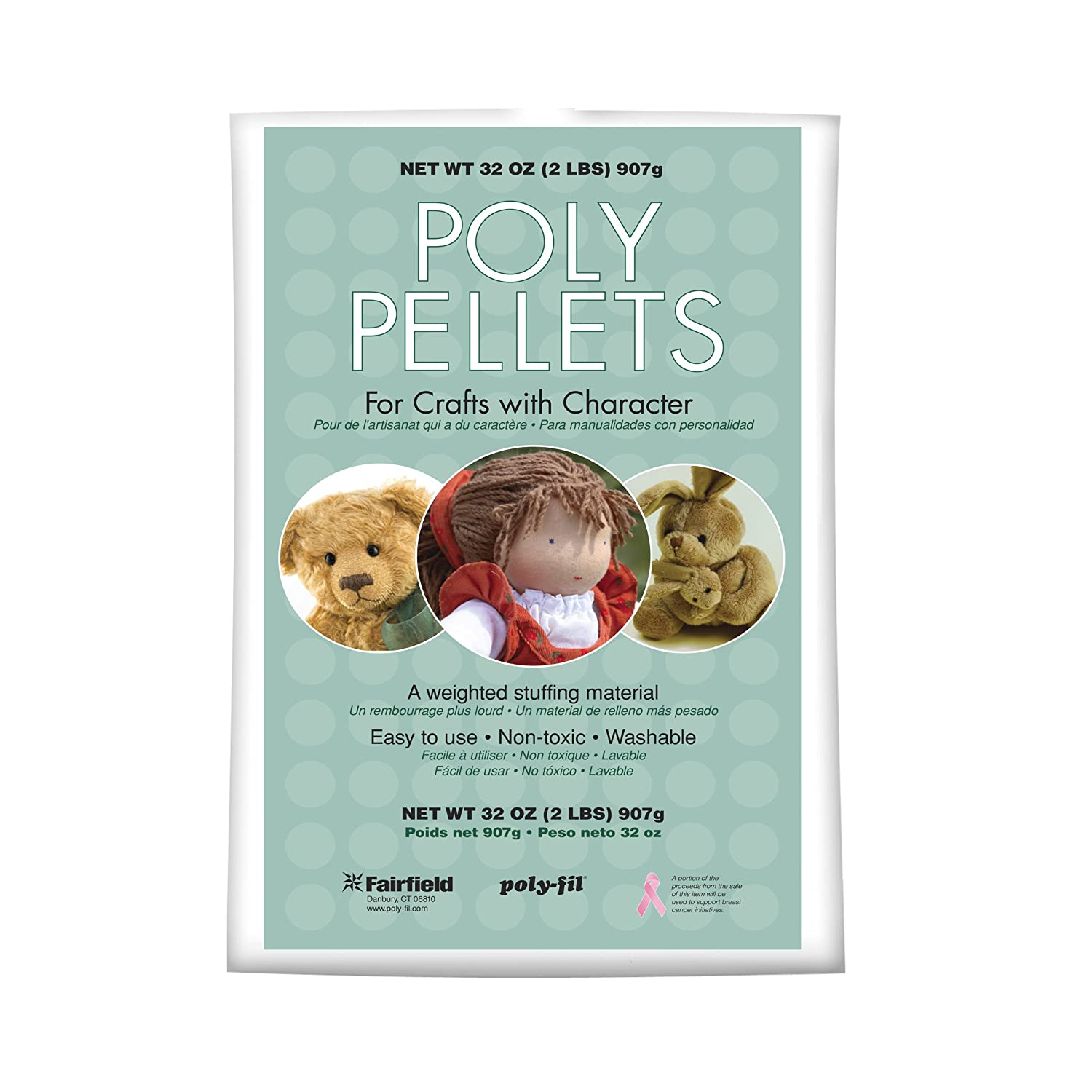 Fairfield Poly-Pellets Weighted Stuffing Beads PP-2