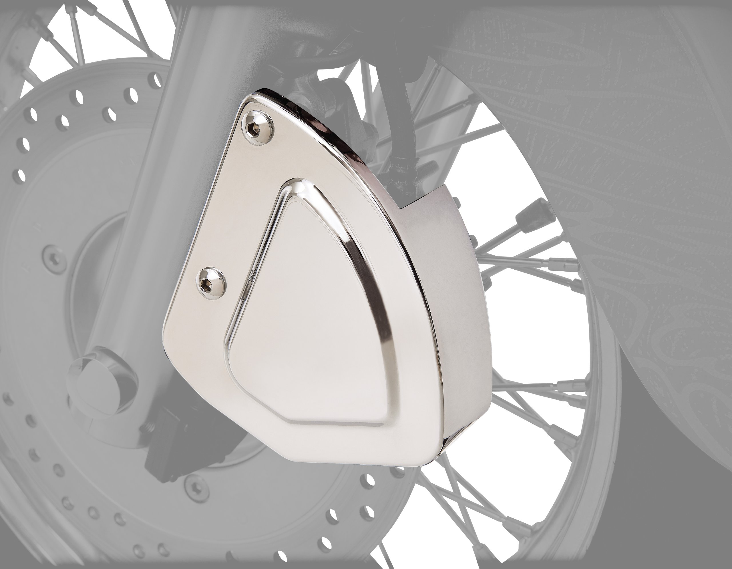 Show Chrome Accessories 53-447 Front Brake Caliper Cover