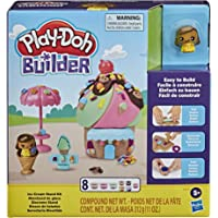 Play-Doh Builder Ice Cream Stand Toy Building Kit E9040