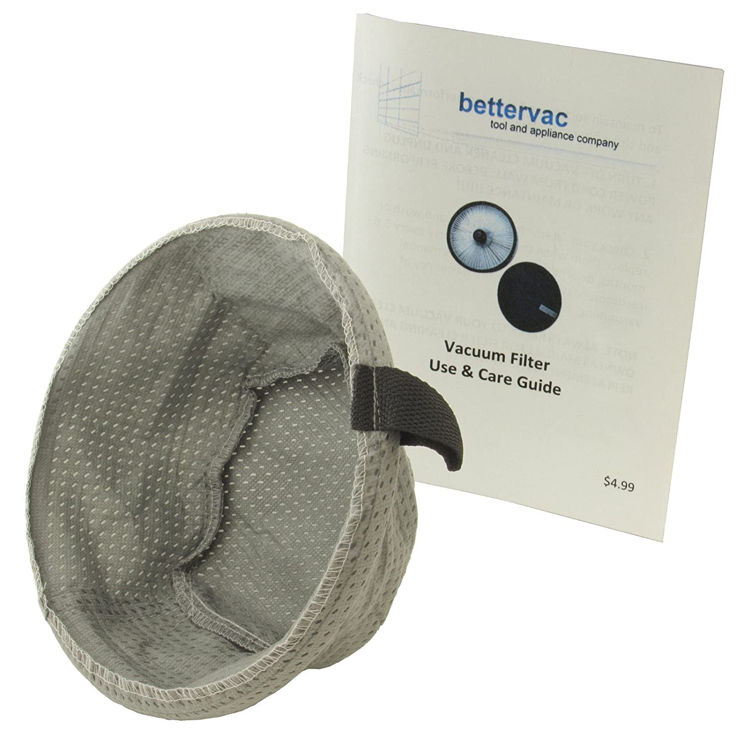 Bissell Garage Pro Wet Dry Vacuum Filter #2030166 Bundled With Use & Care Guide