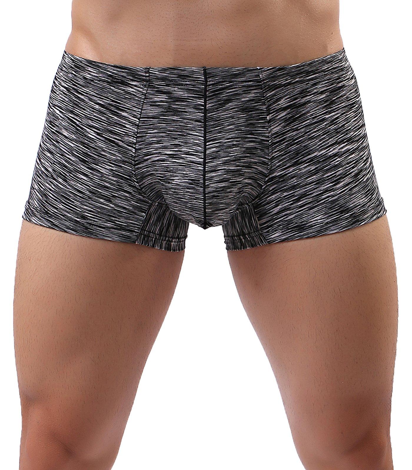 MAKEIIT Young Underwear X-Temp Boxers Guys Underwear Fitted Cool Boxer Briefs Men by MAKEIIT (Image #3)