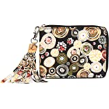 Creature Designer Floral Print Zipper Wallet For Girls(Color-Multicolored||ZWL-09)