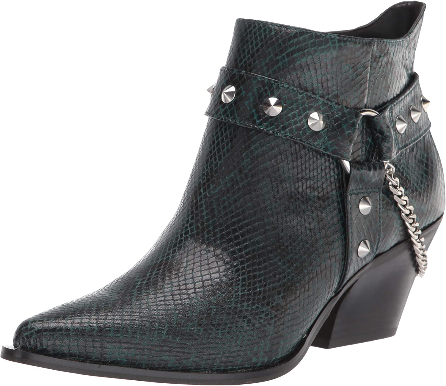 Jessica Simpson Womens Zayrie Ankle Chain Boots Cheap mail Max 80% OFF order shopping Embossed