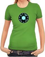 Kult Film Damen T-Shirt mit Arc Reactor Motiv von ShirtStreet