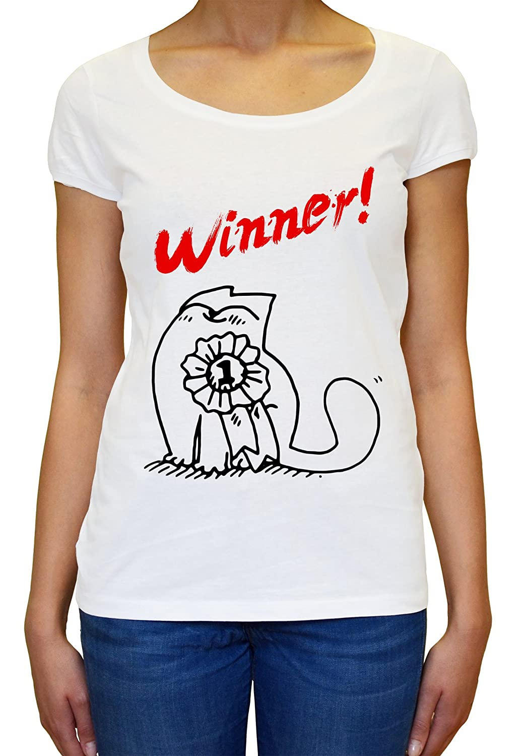 Winner Simons Cat Women's T-shirt