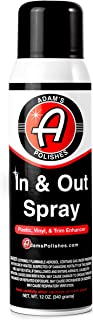 product image for Adam's in and Out Spray - Ultimate Solution for Dressing Those Hard to Reach Areas Around Your Car - Dark, Rich, Longer Lasting Shine (1 Pack)