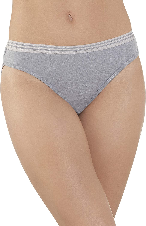 Fruit of the Loom Womens Tag Free Cotton Bikini Panties