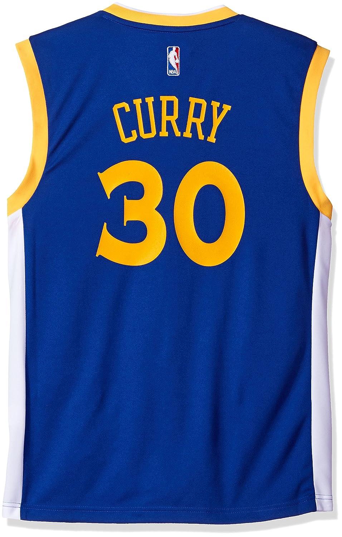 1080fd38d Amazon.com   adidas Stephen Curry Golden State Warriors Revolution Replica  Jersey - XXL   Sports Fan Jerseys   Sports   Outdoors