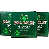 Vermont's Original Bag Balm Mega Moisturizing Soap (3 Pack)