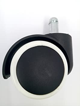 Kings 50mm Black & White Nylon Pin Caster