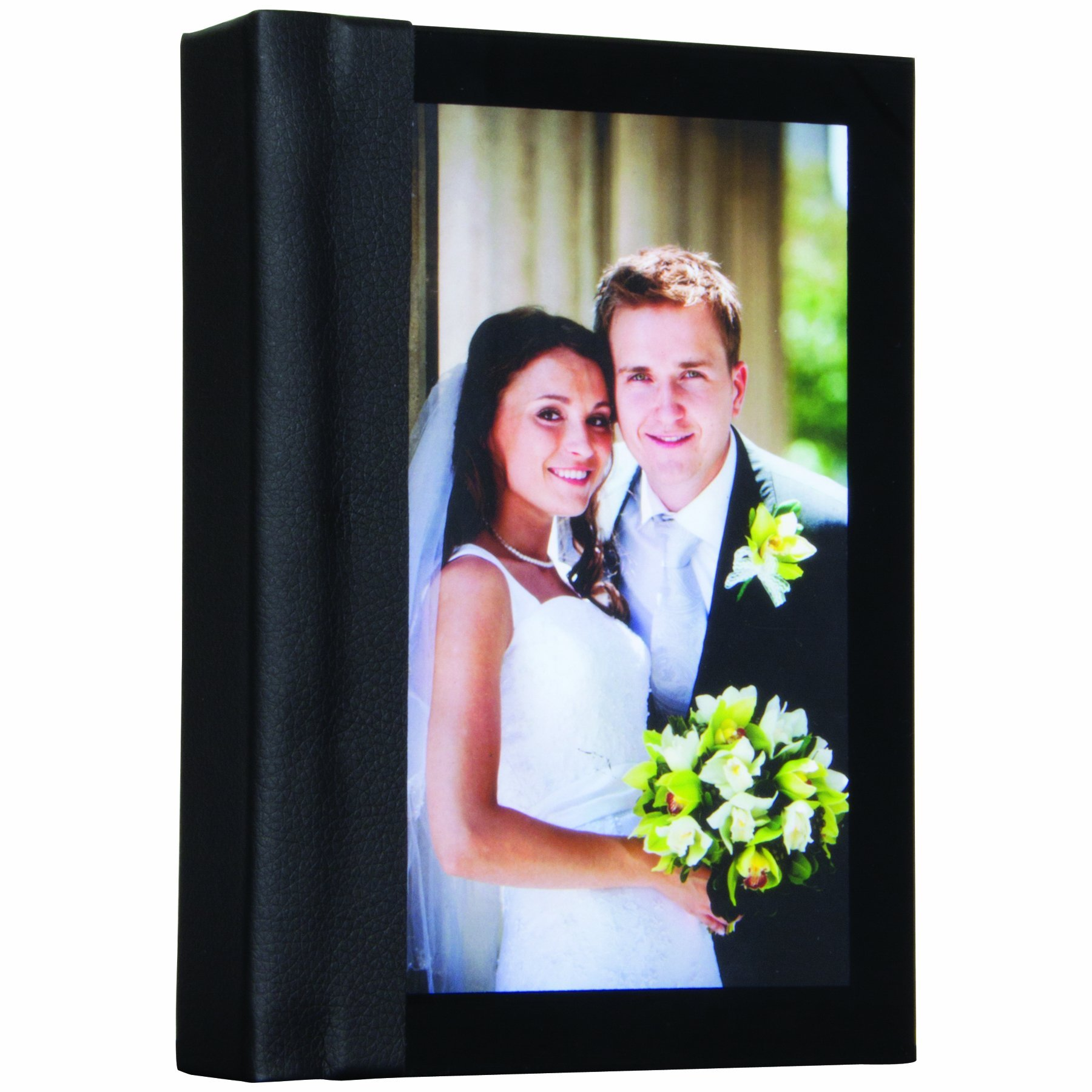 5'' x 7'' Acrylic Cover Self-Stick Photo Albums - Case of 12 by Neil Enterprises