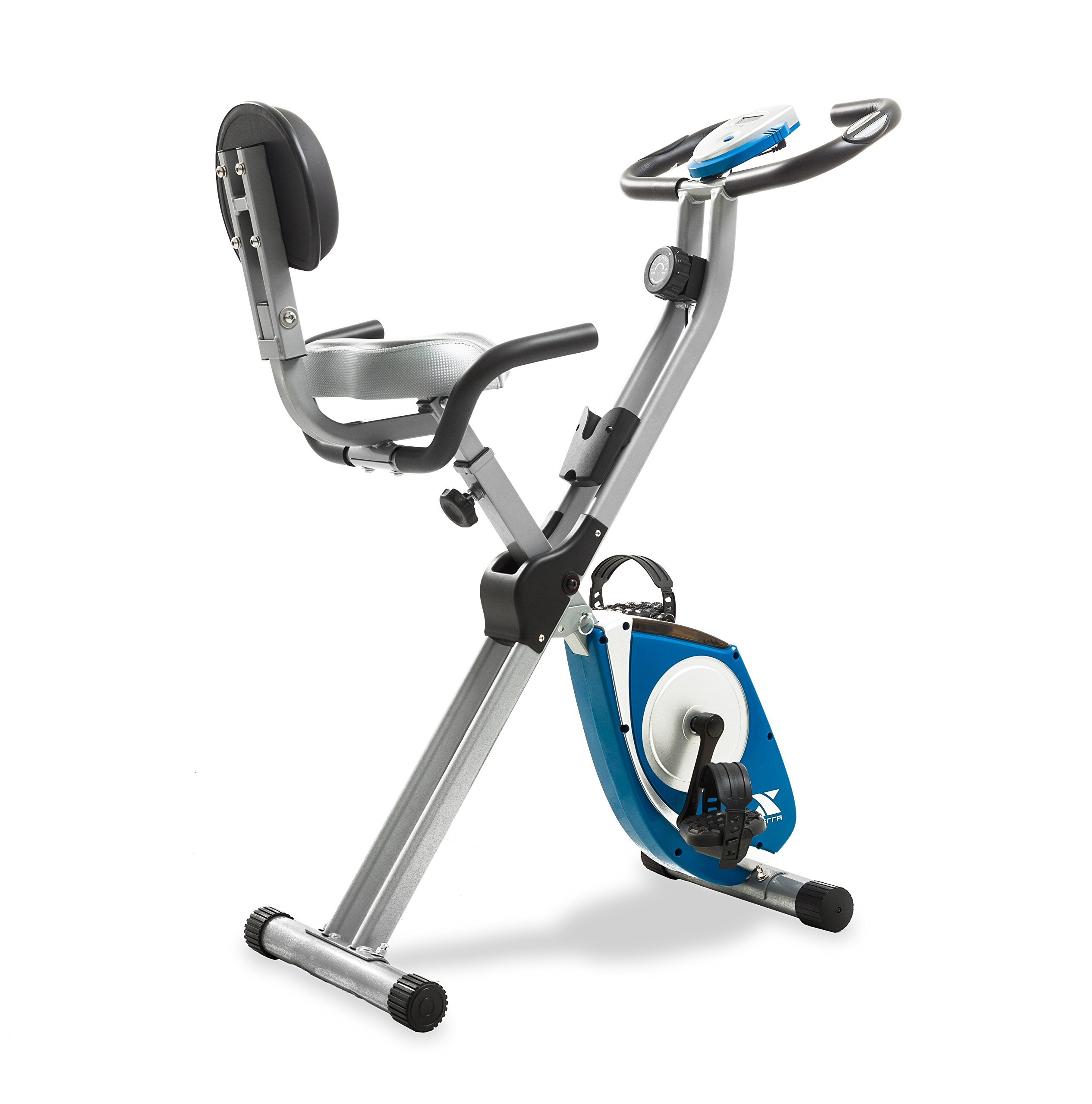 XTERRA Fitness FB350 Folding Exercise Bike, Silver by XTERRA Fitness (Image #1)