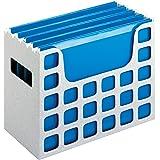 Pendaflex 23054 Desktop File w/Hanging Folders, Letter, Plastic, 12 1/4 x 6 x 9 1/2, Granite