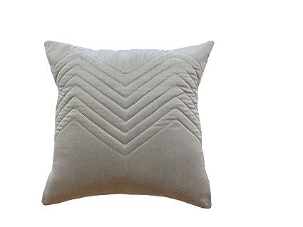 Buy Casa Pride Design Studio Quilted Designer Cushion Cover Stone