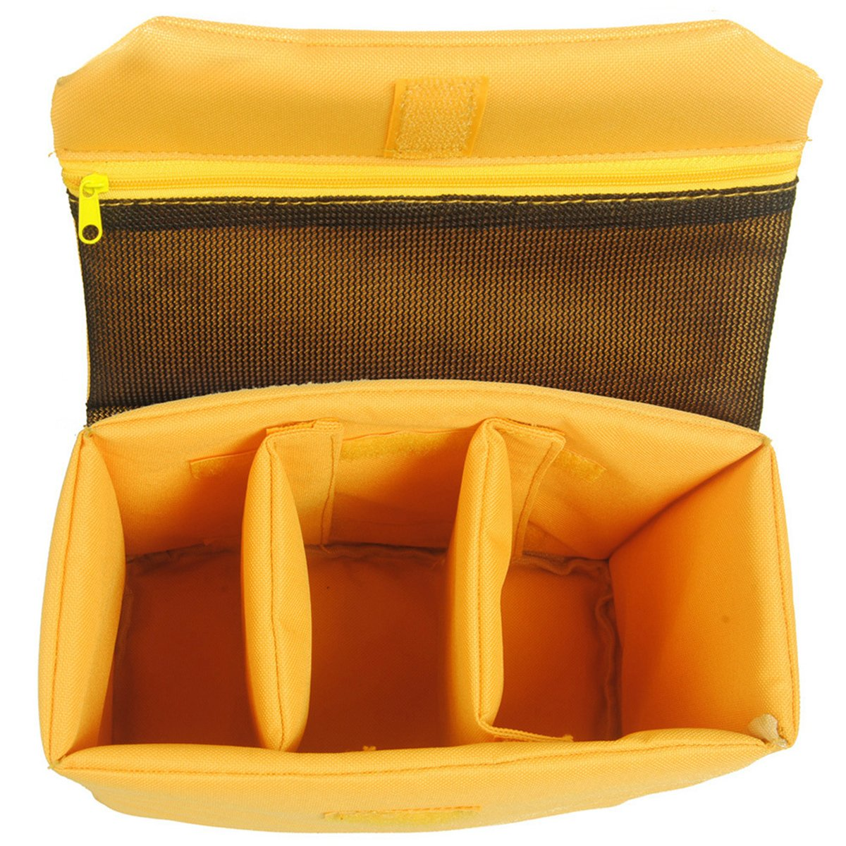 Camera Insert Case Protective Bag Cover,Turpro Waterproof Shockproof Travel Camera Bags SLR DSLR Insert Protection Bag for Sony Canon Nikon Olympus Pentax and etc (12''9''4'' Yellow)