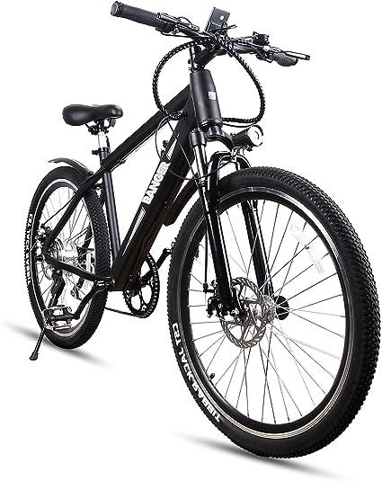 Amazon.com: Bicicletas eléctricas Nakto de 26 pulgadas; con ...